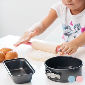 Set Da Pasticceria Per Bambini - Colore Azzurro
