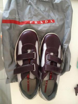 Sneakers Prada Luna Rossa originali nuovissime