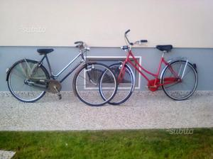 2 bici da donna