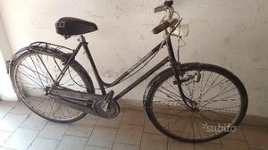 Bicicletta da donna vintage da 26 nera alpina