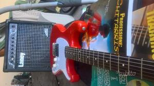 Chitarra con pick up di fender stratocaster