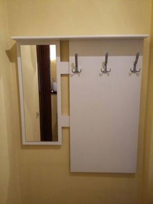 Appendiabiti con specchio ad angolo posot class - Appendiabiti con specchio ...
