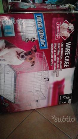 Gabbia addestramento/ trasporto cani