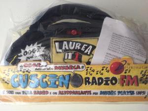 Radio regalo laurea nuova