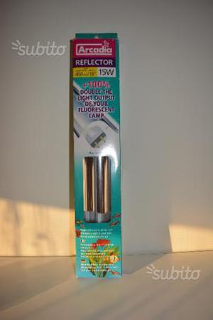 Riflettore, paralume per tubo al neon acquario