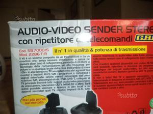 Ripetitore nuovo audio video sender gbc