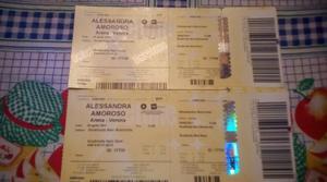 Vendo biglietti Alessandra amoroso arena di Verona il 29
