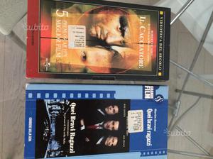Video cassette originali film famosi