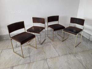 4 sedie usate design giorgio cattelan moderne posot class for Sedie vintage design