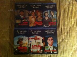 ALBERTO SORDI. Lotto di 31 VHS intatti. Entrate