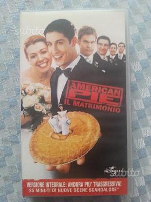 American Pie Il Matrimonio VHS
