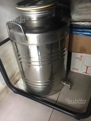 Botte in metallo per Alimenti da 50 litri