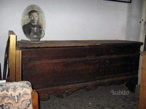 Cassapanca antica da restaurare posot class for Cassapanca del 500