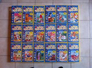 Collezione videocassette Disney Magic English