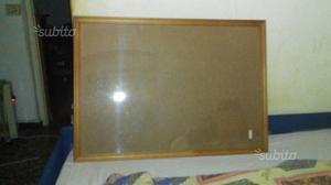Cornice in legno con vetro in plexiglass nuova