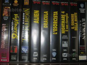 Film in vhs di tutti i generi