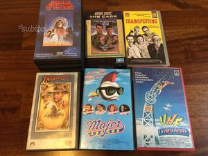 Guerre Stellari trilogia VHS star trek e altri