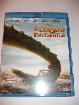 Il Drago Invisibile Disney blu ray