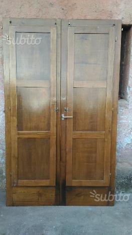 Infissi legno massello castagno