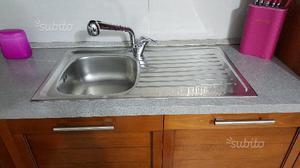 Lavello acciaio inox monovasca