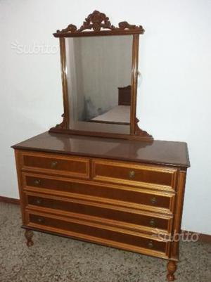 Mobile Consolle Antico Con Specchio Posot Class