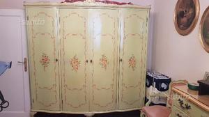 Camera da letto barocco veneziano anni 60 pezzo posot class - Camera da letto anni 40 ...