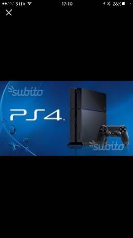 PLAY STATION 4 con 2 terabyte