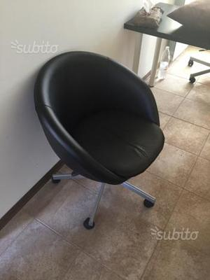 Poltroncine Ikea con rotelle