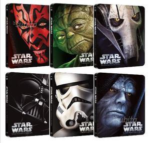 STAR WARS - La Saga Completa - STEELBOOK EDITION (