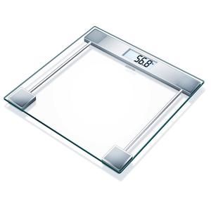 Sanitas Bilancia da Bagno in Vetro 150 kg Bianca SGS 06