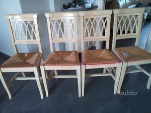 Cuscini da sedia per cucina e soggiorno posot class - Sedie impagliate da cucina ...