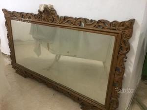 Antico specchio carlo x posot class for Specchio antico piccolo