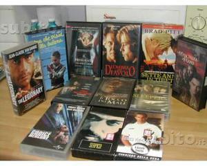 Stock /lotto 11 videocassette vhs da collezione