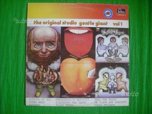 THE ORIGINAL STUDIO GENTLE GIANT VOL.1 vinile lp