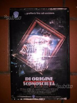 VHS Videocassetta Di origine sconosciuta