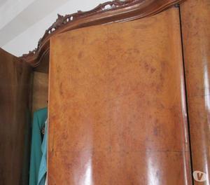 Armadio , in vero legno , da camera da letto anni 50