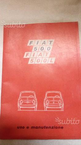 FIAT 500 Manuale Originale Uso e Manutenzione