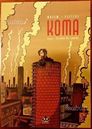 Graphic novel - koma - vol.1 la voce dei camini -