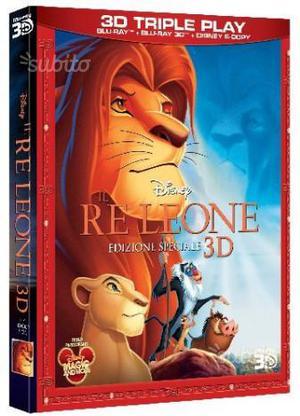 Il Re Leone 3D (Blu Ray 3D) Nuovo