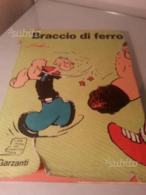 Libro BRACCIO DI FERRO,  vintage
