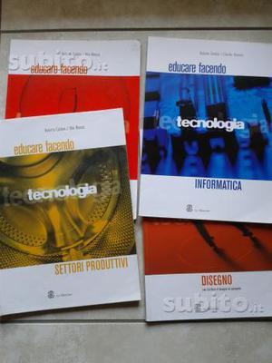 Libro Educare Facendo, Caldesi Massai 4 volumi