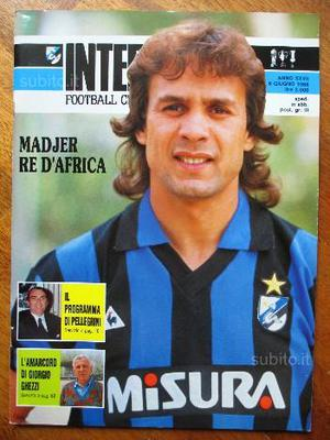 Madjer Rivista Inter Football Club N.