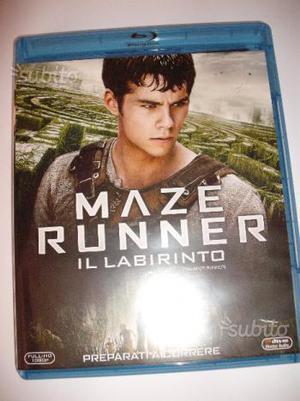 Maze Runner Il Labirinto + La Fuga blu ray