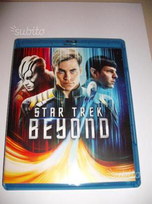 Star Trek Beyond Into Darkness Trilogia blu ray