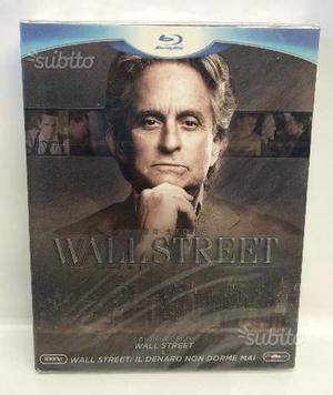 WALL STREET Collection - Cofanetto 2 Blu Ray