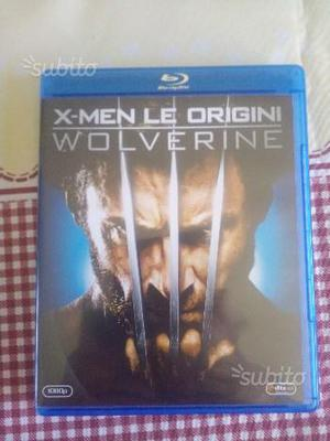 Wolverine X-MEN LE ORIGINI Blu Ray disc
