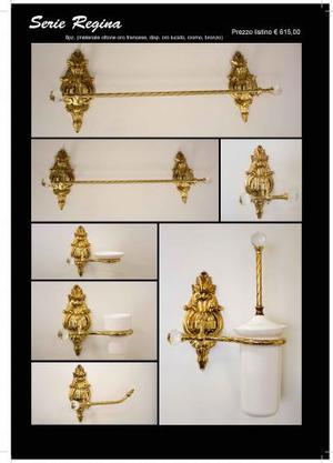 Accessori da bagno ottone e oro posot class - Accessori bagno oro ...