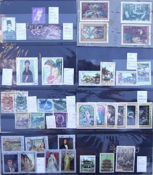 Francobolli vari Cuba Romania Giappone Mauritius