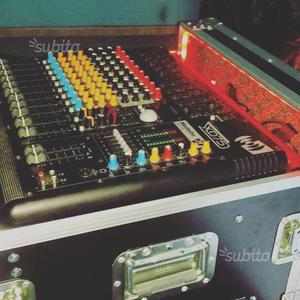 Mixer Montarbo Xd 75 Completo Di Flight Case Proel