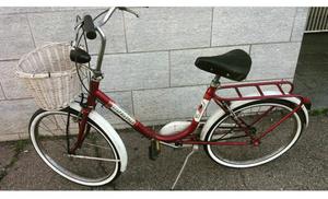 Vendo bici pieghevole uomo/donna messa a nuovo